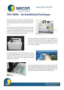 001 TOC-IRMS